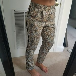 Zara Pattern Pants!