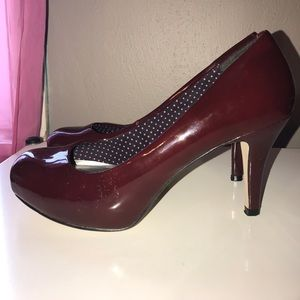 Madden Girl Red Wine heels