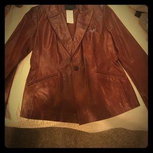 Leather jacket, Express, Size M
