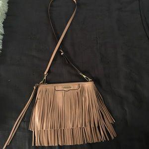 Rebecca Minkoff tassel pink Crossbody handbag