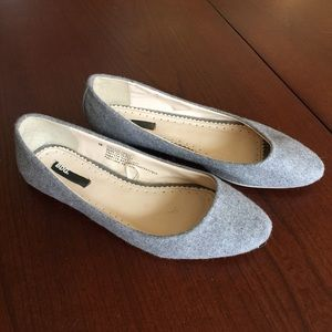 BDG Urban Outfitters flannel ballet flats