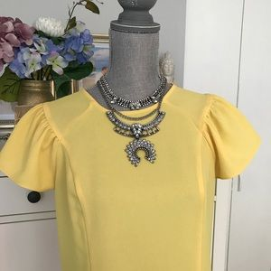 Zara yellow blouse size M. Gorgeous quality!