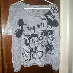 Disney Mickey and minnie tee shirt