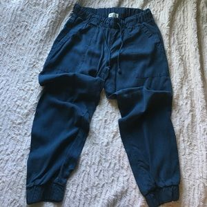 Cloth and Stone Blue Cropped Pants Size M