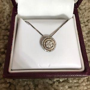 1/4 CTTW Diamond Necklace