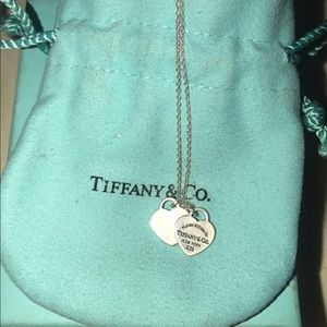Tiffany necklace wore maybe 5 times