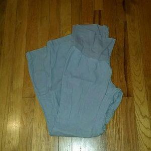 Old Navy Linen Blend Maternity Pants