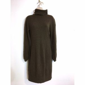 Vince Grey Brown Cashmere Dress