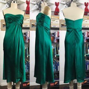 Banana Republic Silk Strapless Dress