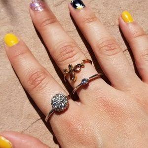 Jewelry - Bundle of 3 Rings