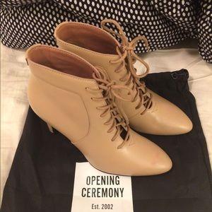 Opening ceremony boot