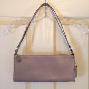 Dusty lavender Latico baguette purse