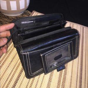 Handbags - Black vinyl wallet