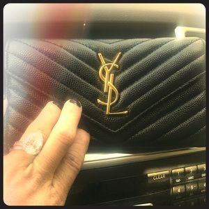 Handbags - Black long wallet New in box