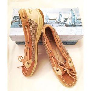 "Sperry ""Angelfish"" in Linen/Oat Boat Shoe"