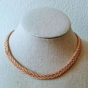 Braided Chocker necklace