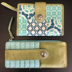 Fossill Wallet & Card Holder