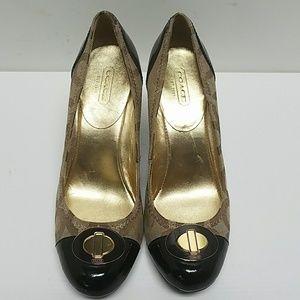Coach heels. Size 6.5 B