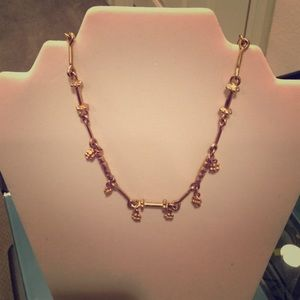 Vintage Erwin Pearl Gold Tone Necklace