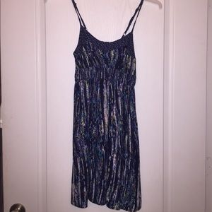 Skinny strap pocket dress