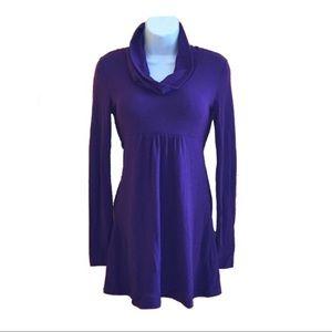 Purple Knit Tunic