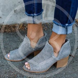 JUSTINE Booties - Lt. GREY