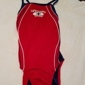 Speedo Ladies one piece bathing suit, size 30/SM