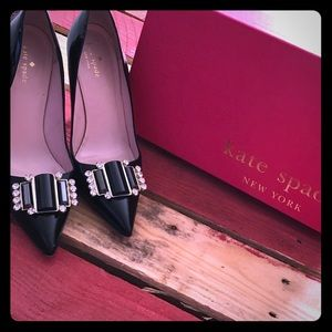 Patent leather Kate Spade pumps