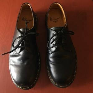 Dr Martens Oxfords, 1461 Black Smooth