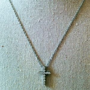 """🐝 Beautiful cross with 15"""" chain"""