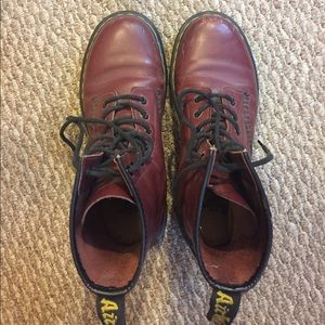 Lightly Worn Oxblood Doc Martens