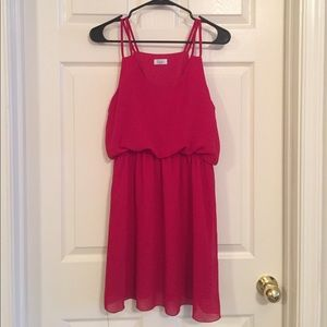 Red Tobi dress. Only worn once!