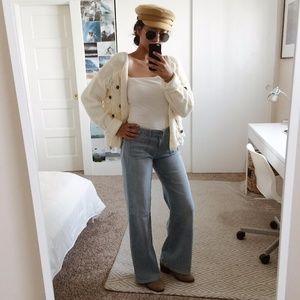Light Wash GAP Wide Leg Hippie Jeans