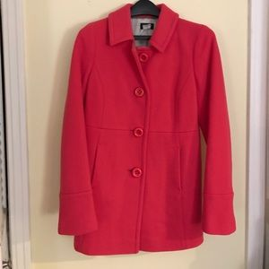 J.Crew pink wool jacket