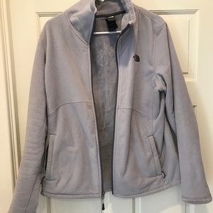 Women's north face. Purple. Size large.