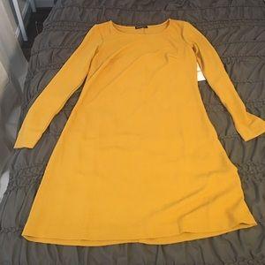 American Apparel crepe A line Dress