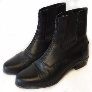 ARIAT Heritage Paddock Riding Boots Black 9.5