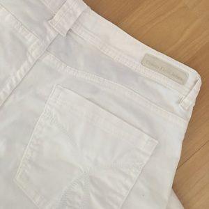 Calvin Klein White Jeans Sz 8 Skinny