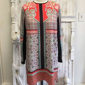 Clover Canyon Fall Print Tunic Dress