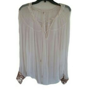 New Free People Dream Cuff Top Medium