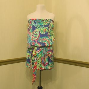 Lilly Pulitzer Romper in Toucan Play