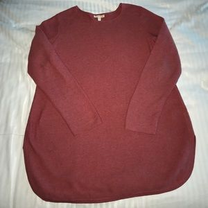 Eileen Fisher red sweater M