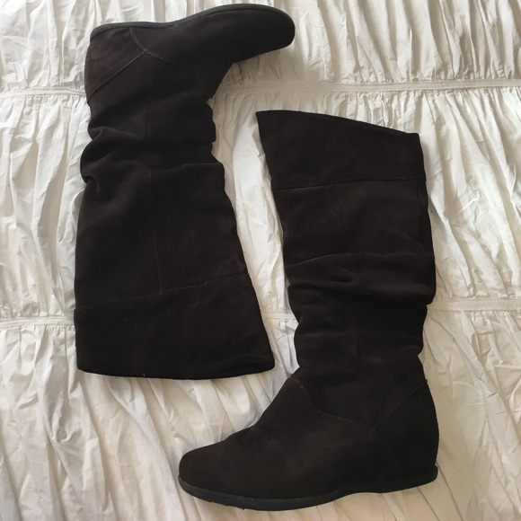 Warm stylish suede winter boots 9c47872a3
