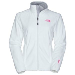 Women's North Face Pink Ribbon Osito Jacket