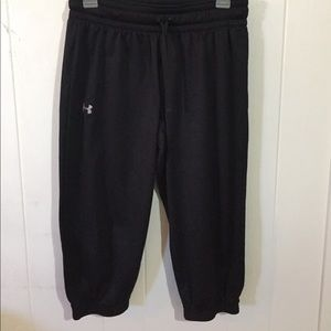 Under armour sweatpants capris crops