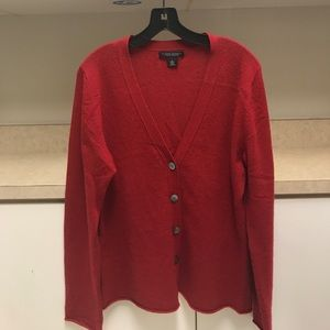 Women's 100% cashmere cardigan