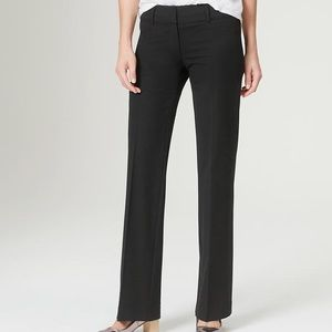 The LOFT Marisa trouser dress pant size 2 black
