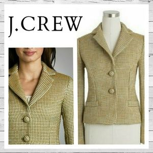 J. Crew Decade Dot Jacket Blazer Sz 4 Like New!