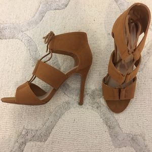 Shoe republic LA tie up heels