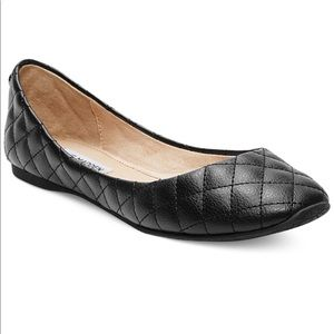 Tere Madden patent leather quilted kwiltt flats